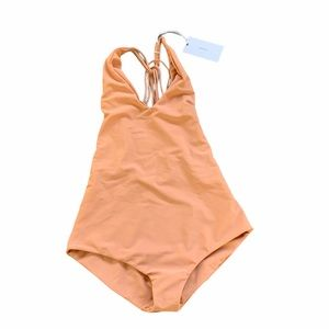 MIKOH new Ipanema nude one piece in small